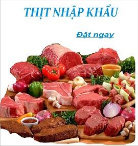 Thịt nhập khẩu